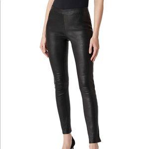J brand Edita lamb leather leggings
